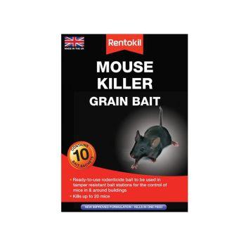 Rentokil Mouse Killer Grain Bait, 10 Sachets - RKLPSM22