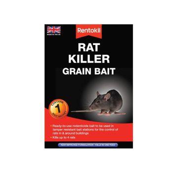 Rentokil Rat Killer Grain Bait, 1 Sachet - RKLPSR31