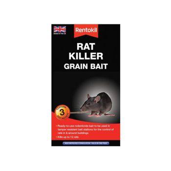 Rentokil Rat Killer Grain Bait, 3 Sachets - RKLPSR32
