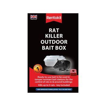 Rentokil Rat Killer Outdoor Bait Box - RKLPSR71