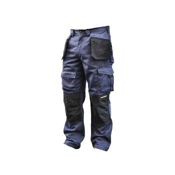 Roughneck Black & Blue Holster Work Trousers Waist 38in Leg 33in - RNKBBHT3833