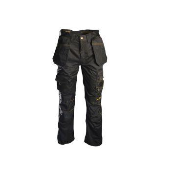 Roughneck Black Holster Work Trousers Waist 36in Leg 31in - RNKBHT3631
