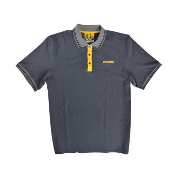 Roughneck Grey Polo Shirt - XXL (50-52in) - RNKPOLOGYXXL