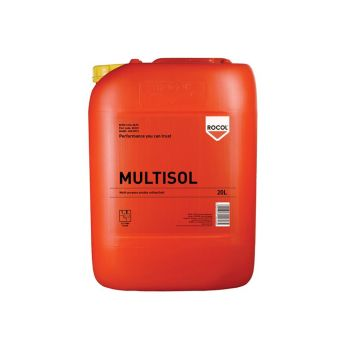 ROCOL MULTISOL Water Mix Cutting Fluid 20 Litre - ROC35223