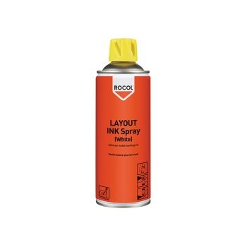 ROCOL LAYOUT INK Spray White 400ml - ROC57025