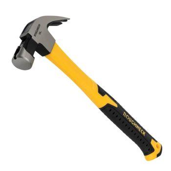 Roughneck Claw Hammer Fibreglass Shaft 454g (16oz) - ROU11105