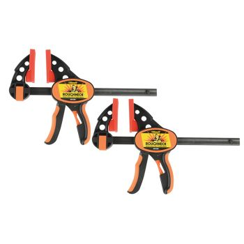 Roughneck Ratcheting Bar Clamp & Separator 152mm (6in) Twin Pack - ROU38252