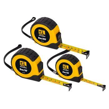 Roughneck E-Z Read® Tape Measure Set, 3 Piece - ROU43100