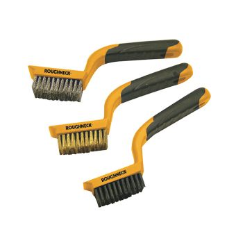 Roughneck Wire Brush Set, 3 Piece - ROU52012