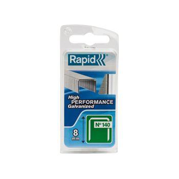 Rapid 8mm Galvanised Staples Narrow Box 970 - RPD1408NB