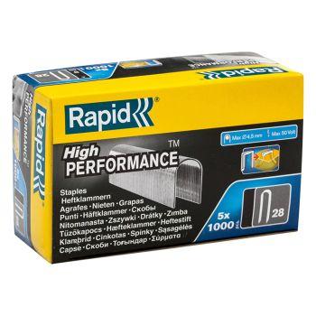 Rapid 10mm DP x 5m Galvanised Staples Box 5 x 1000 - RPD2810G