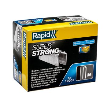 Rapid 14mm DP x 5m Galvanised Staples Box 5 x 1000 - RPD3614G
