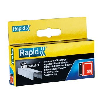 Rapid 10mm Galvanised Staples Box 2500 - RPD5310B2500