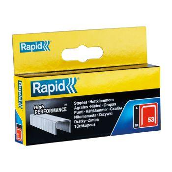 Rapid 12mm Galvanised Staples Box 2500 - RPD5312B2500
