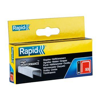 Rapid 14mm Galvanised Staples Box 2500 - RPD5314B2500