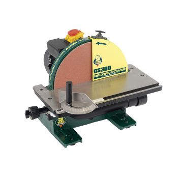 Record Power Cast Iron Disc Sander 305mm (12in) - RPTDS300