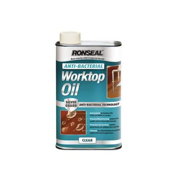Ronseal Anti-Bacterial Worktop Oil 500ml - RSLABWO500