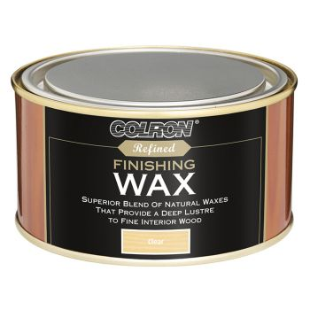 Ronseal Colron Refined Finishing Wax Clear 325g - RSLCRFW325