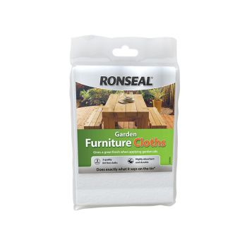 Ronseal Garden Furniture Cloth (Pack of 3) - RSLGFC