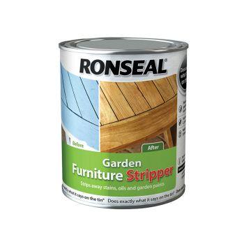 Ronseal Garden Furniture Stripper 750ml - RSLGFS750
