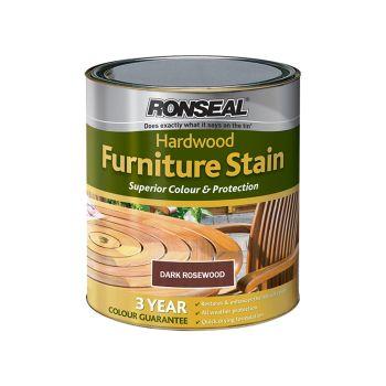 Ronseal Ultimate Protection Hardwood Garden Furniture Stain Rosewood 750ml - RSLHWFSRW750