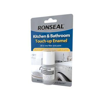 Ronseal Kitchen & Bathroom Touch-Up Enamel 10ml - RSLKBTUE