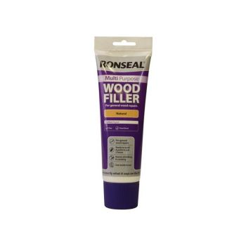Ronseal Multi Purpose Wood Filler Tube Natural 325g - RSLMPWFN325G
