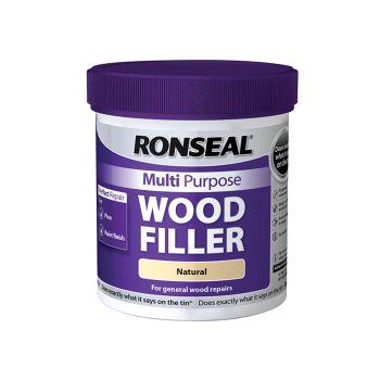 Ronseal Multi Purpose Wood Filler Tub Natural 930g - RSLMPWFN930