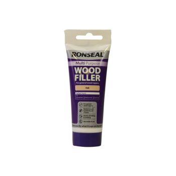 Ronseal Multi Purpose Wood Filler Tube Oak 100g - RSLMPWFO100G