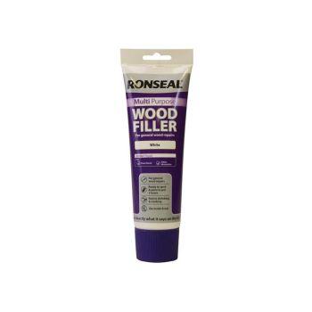 Ronseal Multi Purpose Wood Filler Tube White 325g - RSLMPWFW325G