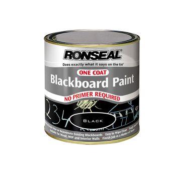 Ronseal One Coat Blackboard Paint 250ml - RSLOCBBP250