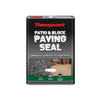 Ronseal Patio & Block Paving Seal Natural 5 Litre - RSLPBPSN5L