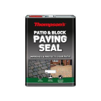Ronseal Patio & Block Paving Seal Wet Look 5 Litre - RSLPBPSWL5L