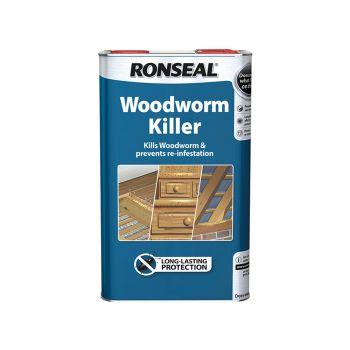 Ronseal Woodworm Killer 5 Litre - RSLWK5L