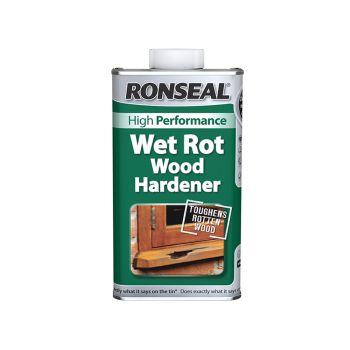 Ronseal Wet Rot Wood Hardener 500ml - RSLWRWH500