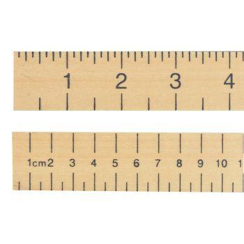 R.S.T. Hardwood 1 Metre Stick Plain - RST670