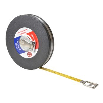 R.S.T. Closed Metallic Strip Steel Long Tape 30m/100ft (Width 13mm) - RSTRKM60030