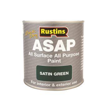 Rustins ASAP Paint Green 500ml - RUSASAPG500