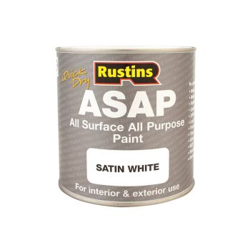 Rustins ASAP Paint White 500ml - RUSASAPW500