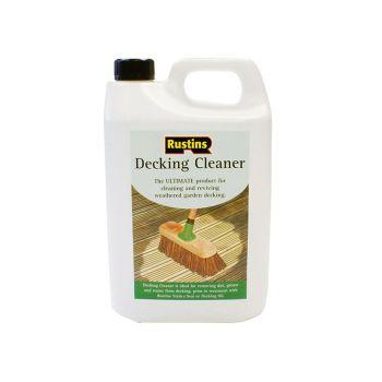 Rustins Decking Cleaner 4 Litre - RUSDECL4L