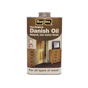 Rustins Original Danish Oil 250ml - RUSDO250