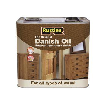 Rustins Original Danish Oil 2.5 Litre - RUSDO25L