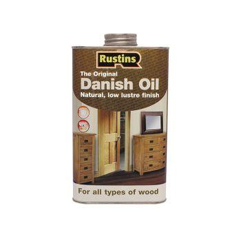 Rustins Original Danish Oil 500ml - RUSDO500