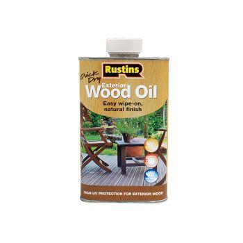 Rustins Exterior Wood Oil 500ml - RUSEWO500