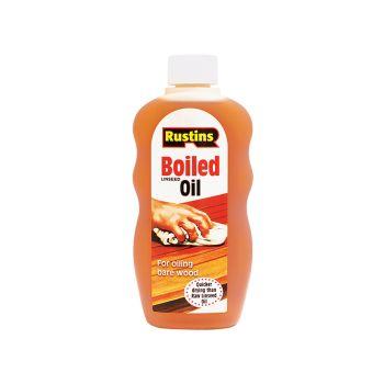 Rustins Boiled Linseed Oil 300ml - RUSLOB300