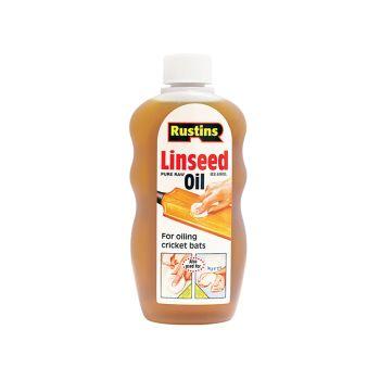 Rustins Raw Linseed Oil 500ml - RUSLOR500