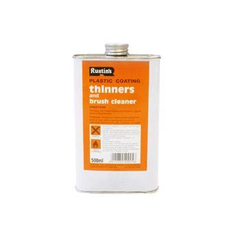 Rustins Plastic Coating Thinners 500ml - RUSPCT500