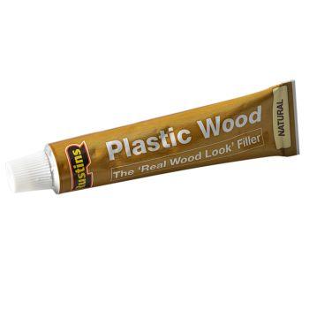 Rustins Plastic Wood Tube Natural 20g - RUSPWTUBEN