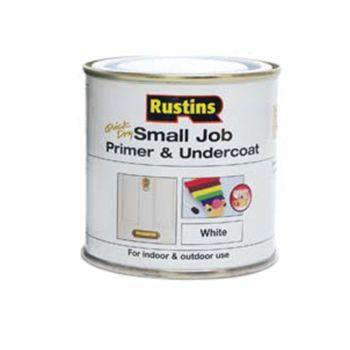Rustins Small Job Primer & Undercoat White 250ml - RUSSJPUWH250