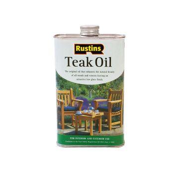 Rustins Teak Oil 250ml - RUSTO250
